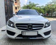 Cần bán Mercedes C300 AMG Model 2018 trắng giá 1 tỷ 930 tr tại Tp.HCM