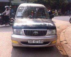 Cần bán xe Toyota Zace GL 2003, màu xanh lục xe gia đình, giá tốt giá 155 triệu tại Hà Nội
