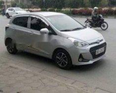 Bán Hyundai Grand i10 sản xuất 2017, màu bạc xe gia đình giá 420 triệu tại Hà Nội