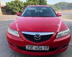 Bán ô tô Mazda 6 đời 2003, màu đỏ giá cạnh tranh giá 235 triệu tại Hải Dương