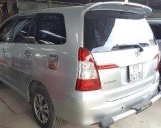 Bán Toyota Innova 2.0E màu bạc số sàn sản xuất 2015 biển Sài Gòn giá 606 triệu tại Tp.HCM