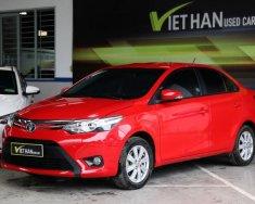 Bán xe Toyota Vios G 1.5AT đời 2014, màu đỏ giá 466 triệu tại Tp.HCM