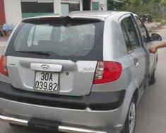 Cần bán xe cũ Hyundai Getz 1.1 MT đời 2008, màu bạc, nhập khẩu giá 155 triệu tại Hải Dương