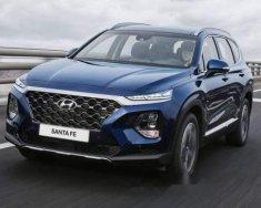 Bán xe Hyundai Santa Fe 2018, màu xanh lam số tự động giá 1 tỷ tại Tp.HCM
