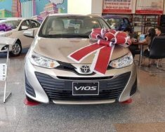 Cần bán xe Toyota Vios E 2018, màu ghi vàng  giá 531 triệu tại Tp.HCM
