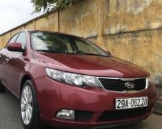 Chính chủ cần bán gấp Kia Forte 1.6 AT đời 2011, màu đỏ giá 395 triệu tại Hà Nội