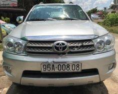 Bán xe cũ Toyota Fortuner 2.7 Dầu năm sản xuất 2009, màu bạc giá 590 triệu tại Cần Thơ