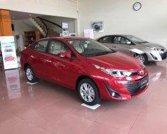 Bán ô tô Toyota Vios 1.5G đời 2018, màu đỏ   giá 606 triệu tại Hải Phòng