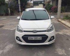 Bán xe Hyundai Grand i10 1.0 AT năm sản xuất 2015, màu trắng chính chủ giá 370 triệu tại Hà Nội