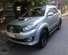 Quy Nhơn, cần bán xe Toyota Fortuner 2.5G 4x2MT năm 2016, màu bạc giá 880 triệu tại Bình Định