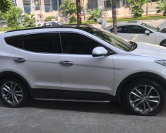 Cần bán Hyundai Santa Fe 2.2L full dầu Sx 2016, màu trắng giá 1 tỷ 80 tr tại Hà Nội