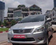 Bán ô tô Toyota Innova 2.0E 2013, màu bạc giá 539 triệu tại Hà Nội