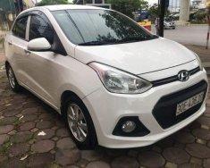 Cần bán gấp Hyundai Grand i10 sản xuất năm 2016, màu trắng chính chủ giá 398 triệu tại Hà Nội