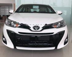 Bán Toyota Yaris 1.5G năm sản xuất 2018, màu trắng, nhập khẩu, nhanh tay liên hệ giá 650 triệu tại Thanh Hóa