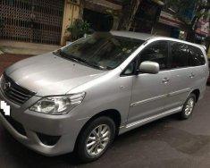 Bán Toyota Innova 2.0E MT năm sản xuất 2012, màu bạc số sàn, giá chỉ 498 triệu giá 498 triệu tại Hà Nội