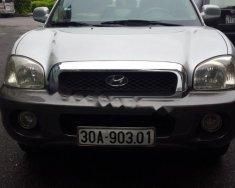 Cần bán xe cũ Hyundai Santa Fe 2004, màu bạc, nhập khẩu nguyên chiếc  giá 298 triệu tại Hà Nội