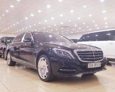 Bán Mercedes S600 Maybach sản xuất 2015- màu đen, nội thất kem giá 8 tỷ 899 tr tại Hà Nội