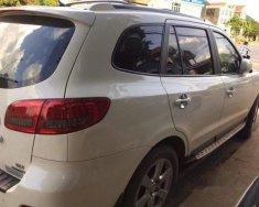 Bán Hyundai Santa Fe SLX 2009, màu trắng, nhập khẩu Hàn Quốc xe gia đình giá 595 triệu tại Hà Nội