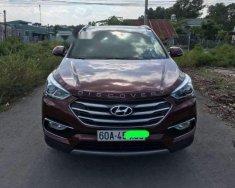 Bán xe Hyundai Santa Fe 2018, màu đỏ giá tốt giá 1 tỷ 198 tr tại Tp.HCM