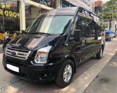 Bán Ford Transit phiên bản SVP độ lên Limited, sản xuất năm 2018, đi lướt 4.000km, màu đen giá 799 triệu tại Tp.HCM