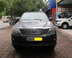 Cần bán Toyota Fortuner G đời 2012, màu xám, xe đẹp không lỗi nhỏ giá 750 triệu tại Hà Nội