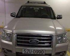 Cần bán lại xe Ford Everest đời 2009, màu bạc chính chủ giá 520 triệu tại Tp.HCM