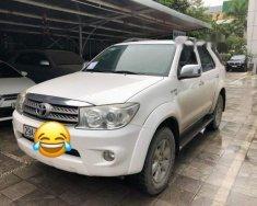 Bán Toyota Fortuner 2.7 V năm 2010, màu trắng, giá chỉ 525 triệu giá 525 triệu tại Hà Nội