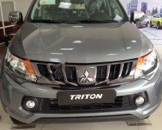 Bán ô tô Mitsubishi Triton 4x2 AT sản xuất 2018, màu xám, nhập khẩu   giá 586 triệu tại Hà Nội