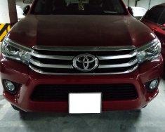 Bán Toyota Hilux 2.8G 2 cầu, số tự động, máy dầu, màu đỏ, sản xuất 2017 giá 810 triệu tại Hà Nội