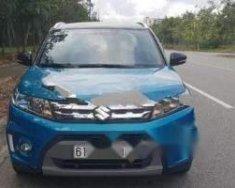 Bán xe Suzuki Vitara 1.6 AT đời 2016, màu xanh lam, nhập khẩu giá 705 triệu tại Bình Dương
