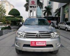 Bán Toyota Fortuner G, số sàn, máy dầu, sản xuất năm 2010, màu bạc giá 645 triệu tại Hà Nội