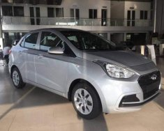 Bán Hyundai Grand i10 Base đời 2018, màu bạc  giá 355 triệu tại Hà Nội