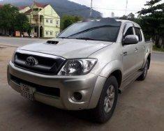 Bán Toyota Hilux 3.0 4x4MT đời 2010, màu bạc, nhập khẩu số sàn  giá 385 triệu tại Hà Tĩnh
