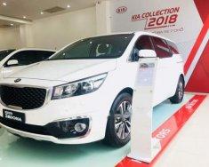 Cần bán Kia Sedona DATH sản xuất 2018, màu trắng giá 1 tỷ 179 tr tại Tp.HCM