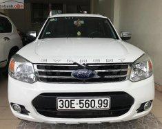 Bán Ford Everest AT đời 2014, màu trắng số tự động giá 670 triệu tại Hà Nội