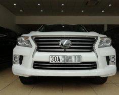 Bán Lexus LX570 nhập Mỹ, màu trắng, đăng ký lần đầu năm 2015, tư nhân, chính chủ, thuế sang tên 2% giá 4 tỷ 625 tr tại Hà Nội