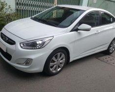 Bán Hyundai Accent 2015 số sàn, màu trắng, nhập Hàn Quốc giá 387 triệu tại Tp.HCM