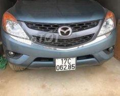 Gia đình bán Mazda BT 50 năm sản xuất 2015, màu xanh  giá 510 triệu tại Thái Bình