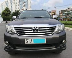 Cần bán xe Toyota Fortuner 2.7V đời 2012, màu xám giá cạnh tranh giá 675 triệu tại Tp.HCM