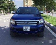 Bán ô tô Ford Ranger XLS AT năm 2014, màu xanh lam giá 488 triệu tại Hà Nội