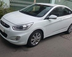 Cần bán Hyundai Accent đời 2015, màu trắng, nhập khẩu Hàn, xe gia đình giá 387 triệu tại Tp.HCM