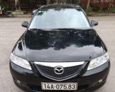 Cần bán lại xe Mazda 6 đời 2003, màu đen số sàn giá 215 triệu tại Hải Phòng