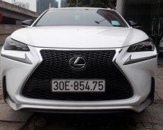 Bán Lexus NX200t đời 2016, màu trắng giá 2 tỷ 438 tr tại Hà Nội