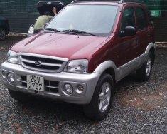 Bán ô tô Daihatsu Terios 1.3MT đời 2004, màu đỏ giá 208 triệu tại Hà Nội
