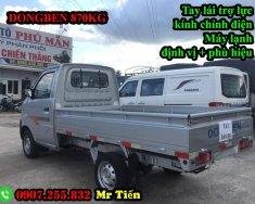 Xe tải Dongben 810 kg thùng lửng / bán trả góp xe tải Dongben 810kg /LH: 0907255832 đặt hàng giá 150 triệu tại Bình Phước