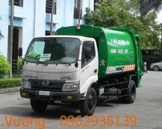 Bán xe cuốn ép rác Hino 6 khối giá 800 triệu tại Hà Nội