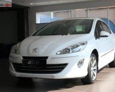 Bán Peugeot 408 Premium 2.0 AT đời 2018, màu trắng giá 740 triệu tại Cần Thơ