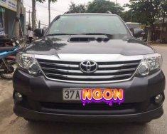 Bán Toyota Fortuner sản xuất 2014, màu đen, số sàn giá 780 triệu tại Nghệ An