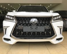 Cam kết giao ngay Lexus LX570 Super Sport S trắng 2018 mới 100%, hồ sơ đăng ký ngay giá 9 tỷ 180 tr tại Hà Nội