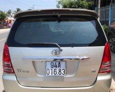 Cần bán lại xe Toyota Innova năm 2007, màu bạc xe gia đình, giá tốt giá 355 triệu tại Bạc Liêu